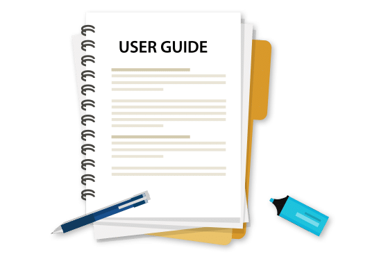 User guide illustration