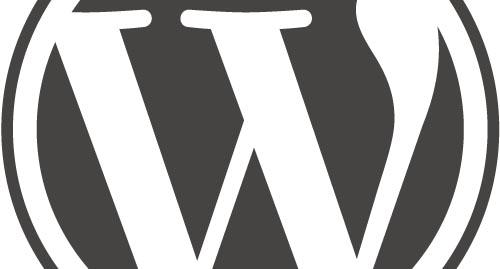 cropped Wordpress logo