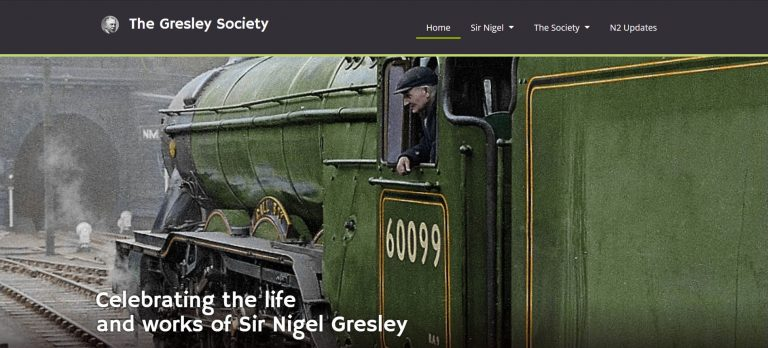 Gresley-Society-website